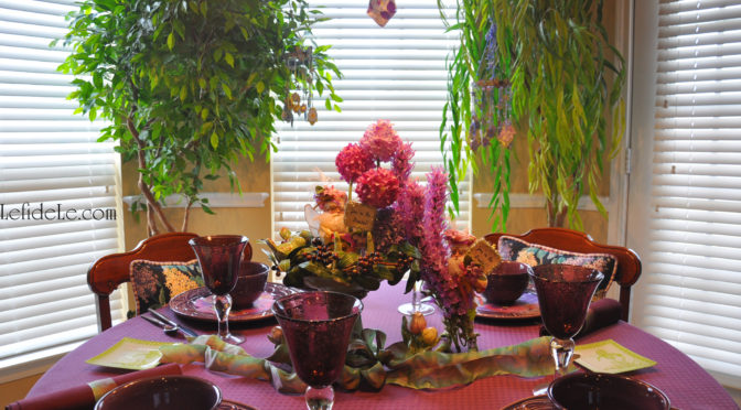 Whimsical Fairyland Tablescape Décor Ideas for a Birthday Party or Mother's Day Celebration