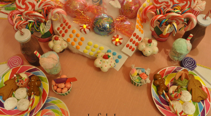 "Quick & Easy Candyland Confection Ideas: Pink Almond Milk Juice ""Recipe"", Cotton Candy ""Cream"" Sodas, & Gingerbread Peep Pops"